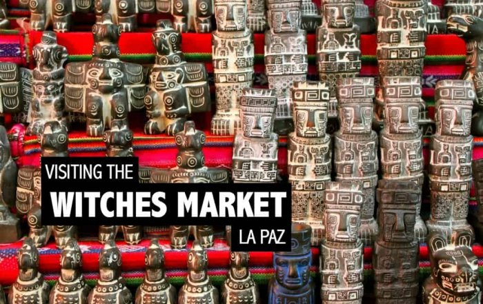 Visiting the Witches Market in La Paz, Bolivia