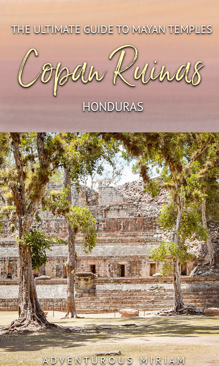 Copan Ruinas is one of the natural treasures of Honduras. The Mayan temples are located 19 km from the border to Guatemala and is easily reached from both countries. Here's what to see at Copan ruins. #honduras