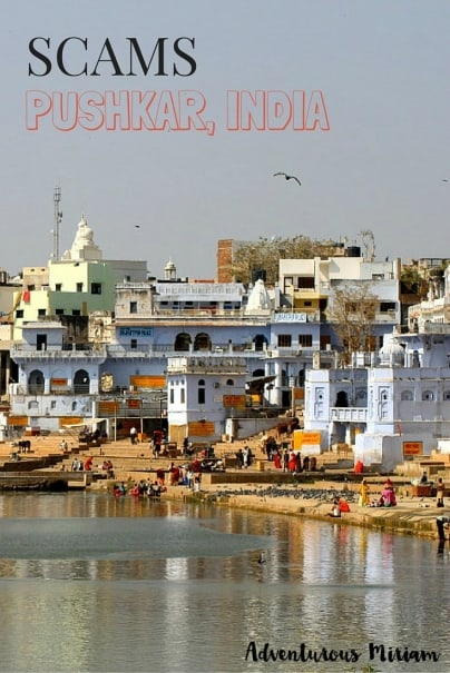 How to avoid scams in Pushkar, India