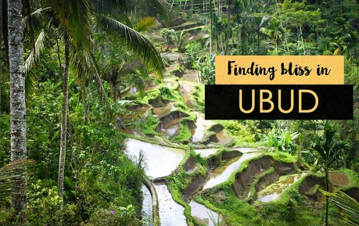 Finding bliss in Ubud, Bali