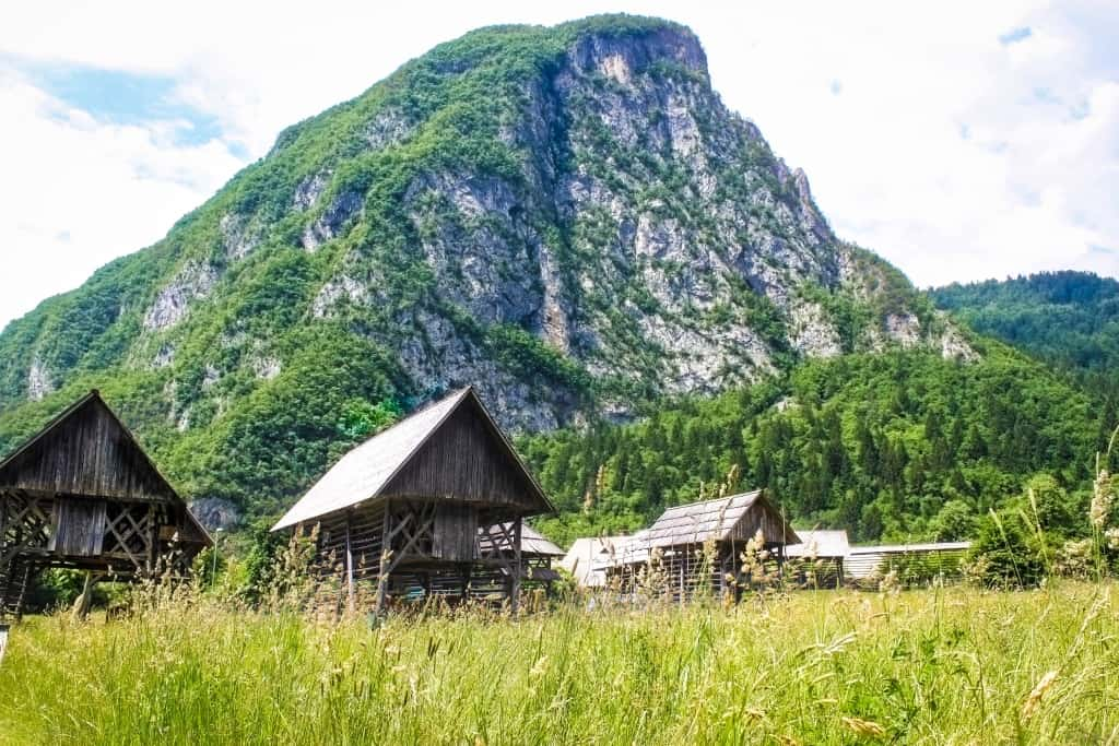 Hiking and Biking at Lake Bohinj