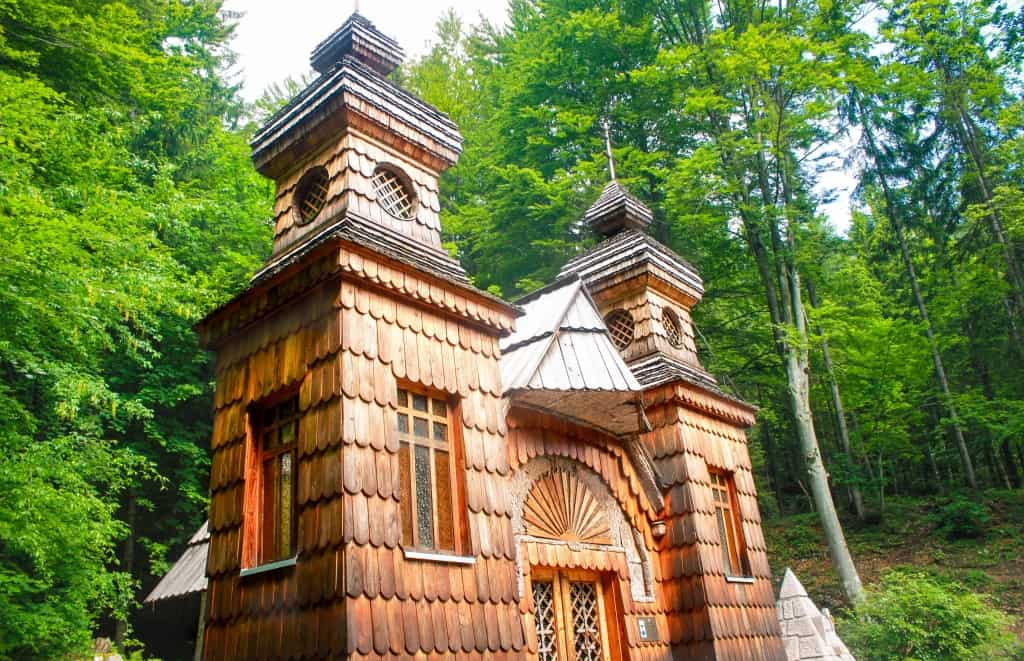 Russian Chapel at Vrši? Pass