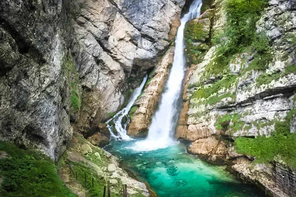 Savica waterfall, Slovenia