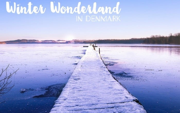 Winter wonderland in Denmark