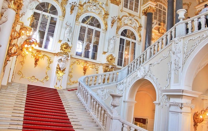 The Hermitage, Saint Petersburg, Russia
