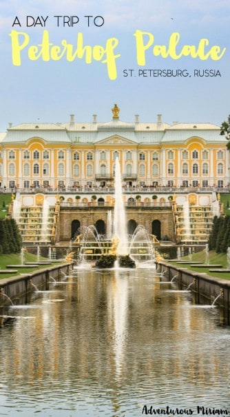 Saint Petersburg is one of those cities that has so many beautiful sites that you have to pick and choose. Unless of course you have a whole month to explore the entire city. One of the most spectacular placec in St. Petersburg is Peterhof Palace, which is easily visited on a day trip. Here's everything you need to know to plan your trip.