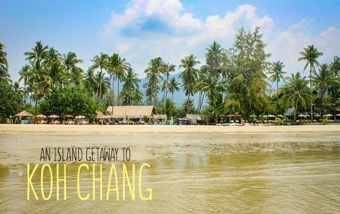 A quick island getaway to Koh Chang, Thailand