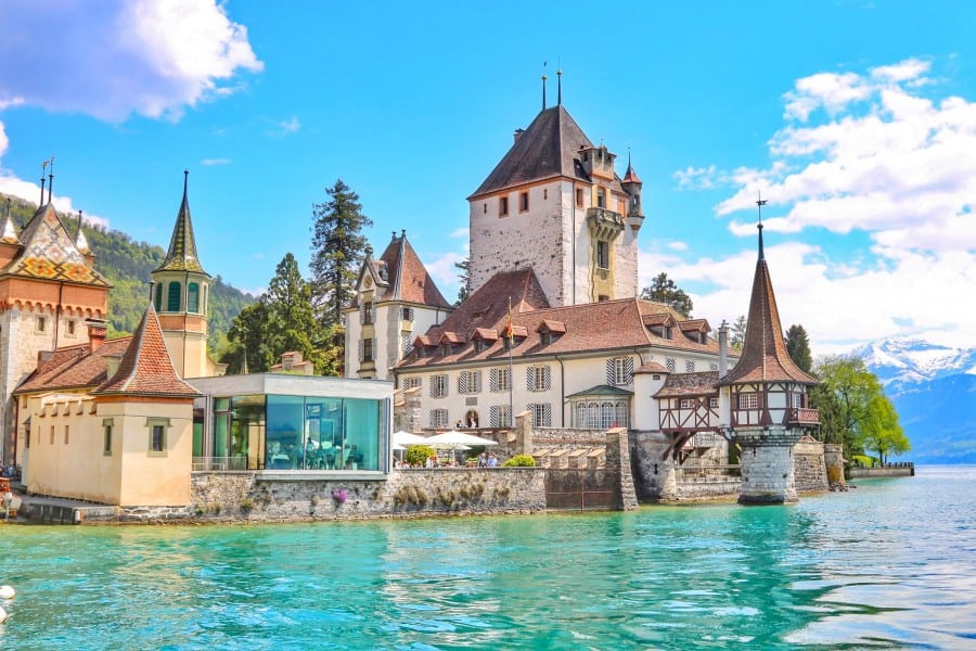 Oberhofen. Switzerland