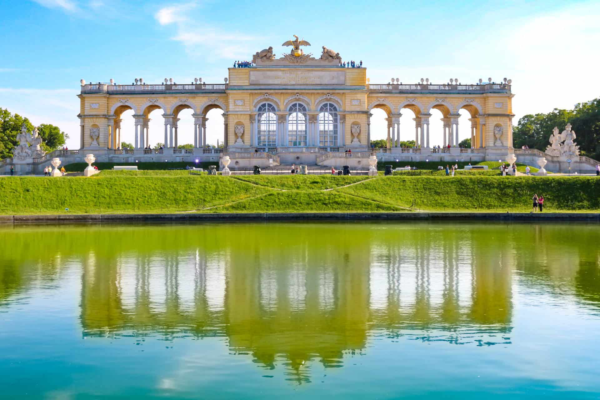 Image result for schonbrunn palace hd