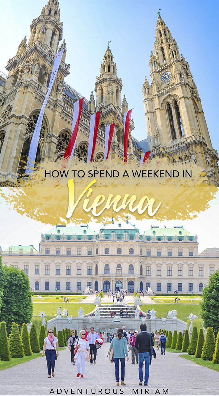 Craving a getaway to a cultural city of world-renowned cake, classic architecture and all-around perfect enchantment? Most of Vienna's major attractions are located around the Ringstrasse, a historic city center that is easily visited on foot. Here are the top things to do in Vienna, Austria. #austria #vienna #travel