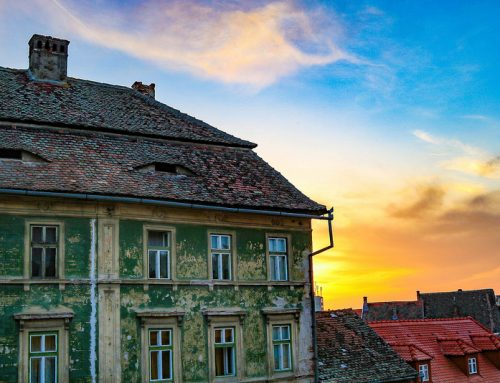 Sibiu, Romania. The city where houses have eyes