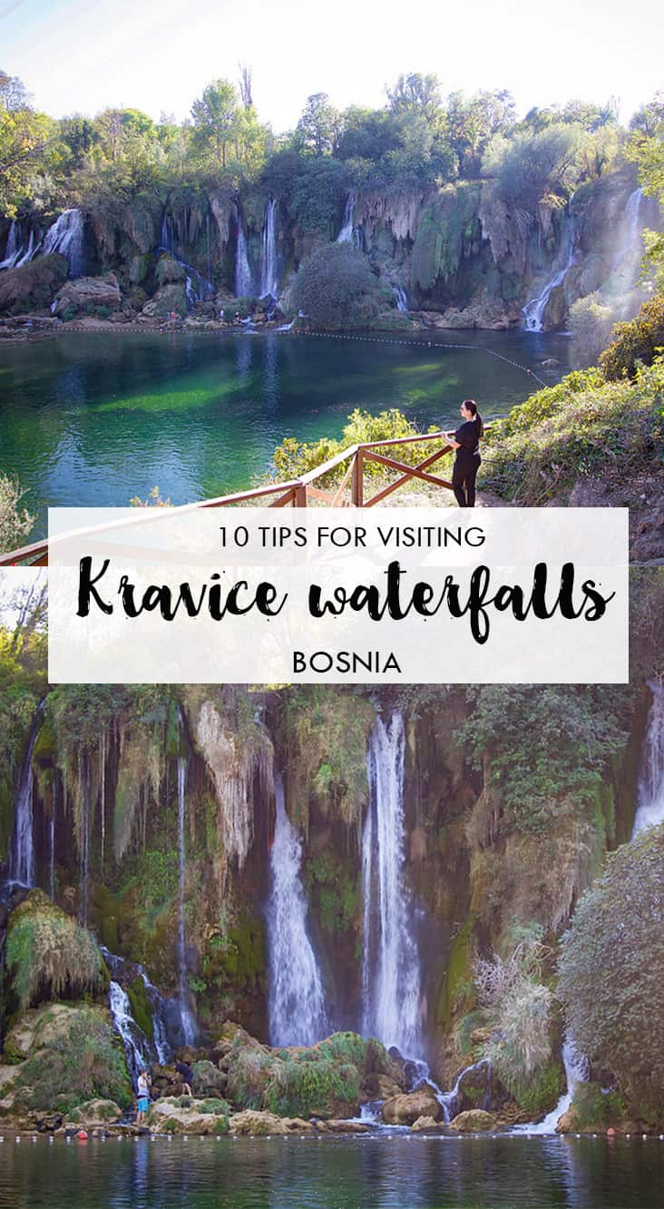 In this post I'll introduce you to Kravice waterfalls, one of Bosnia and Herzegovina's highlights. I'll share all the tips on when to go, how much it costs and how to get there. Get it here.