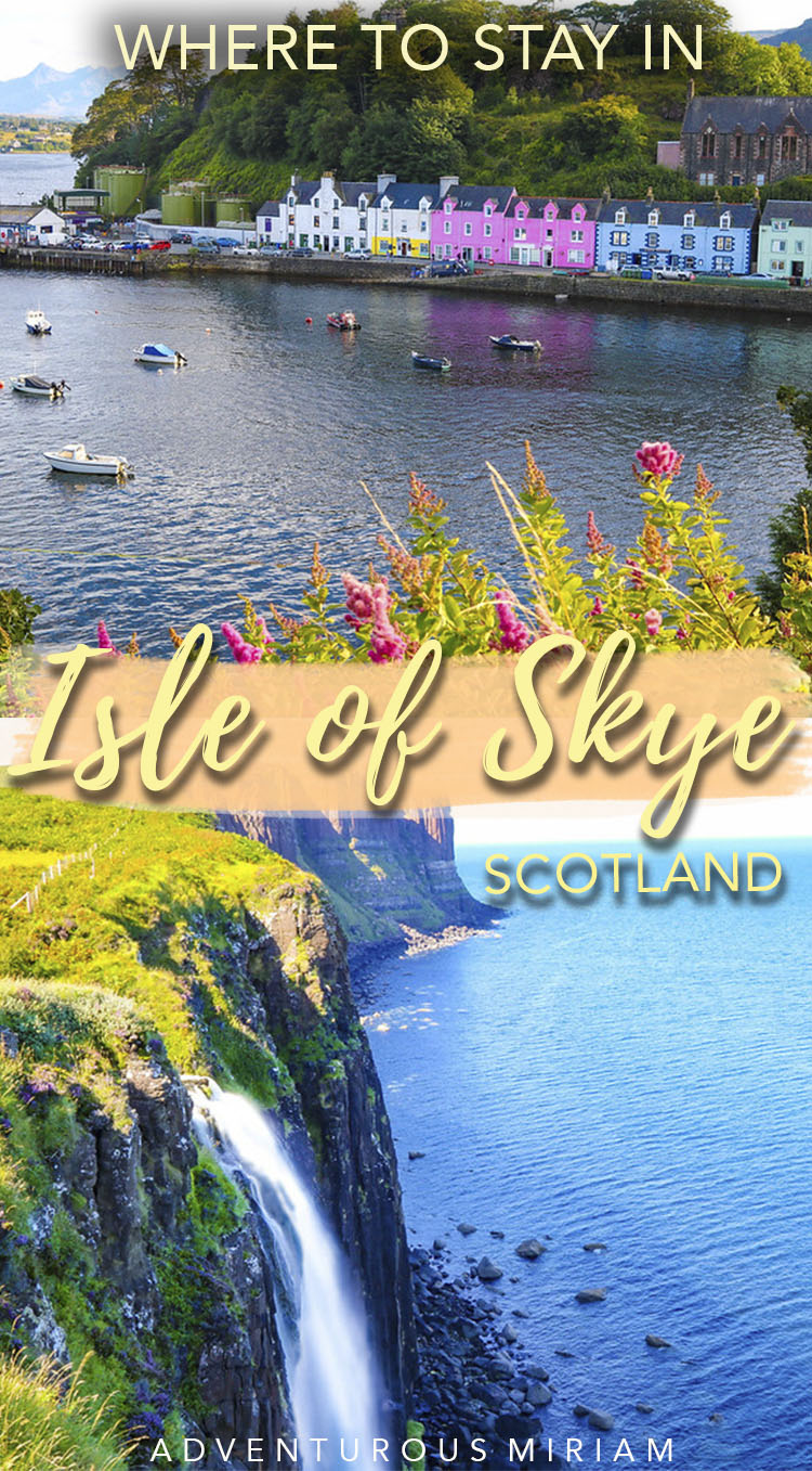 Looking for the best Isle of Skye hotels? Find out where to stay on Isle of Skye, Scotland, from its biggest town of Portree to its smallest villages and hamlets. In this post, we'll look at what each place has to offer and a variety of hotels for you to stay to make the most of your trip to magical Skye. #isleofskye #travel #scotland