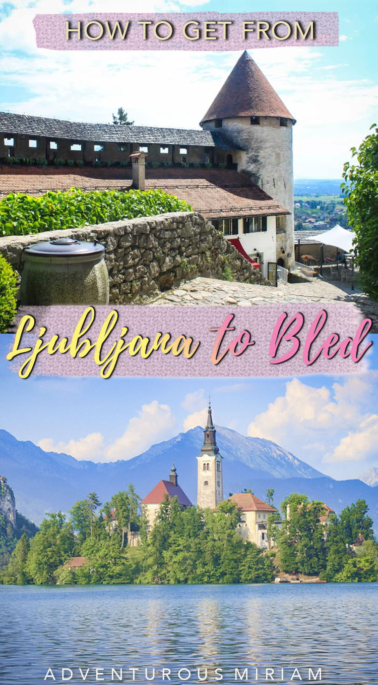 Going from Ljubljana to Lake Bled? I've listed the 3 best ways (by public transportation, rental car and organised tour) incl. a quick guide to Lake Bled. Perfect for first-time travelers, solo travelers, families and couples. #slovenia #balkans #travel