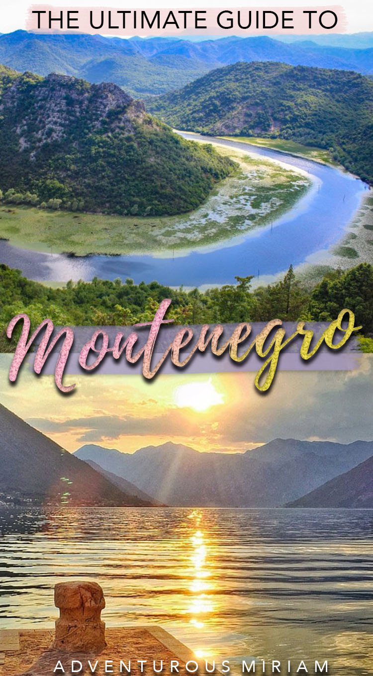 Get the must-have tips in this Montenegro travel guide, incl. what to see, what to eat and where to stay. Visit Montenegro and experience UNESCO sites, the beautiful Kotor Bay, the many monasteries and Durmitor National Park. This Montenegro travel guide is great for first-timers as well as solo travelers, couples and families. #montenegro #travel #balkans
