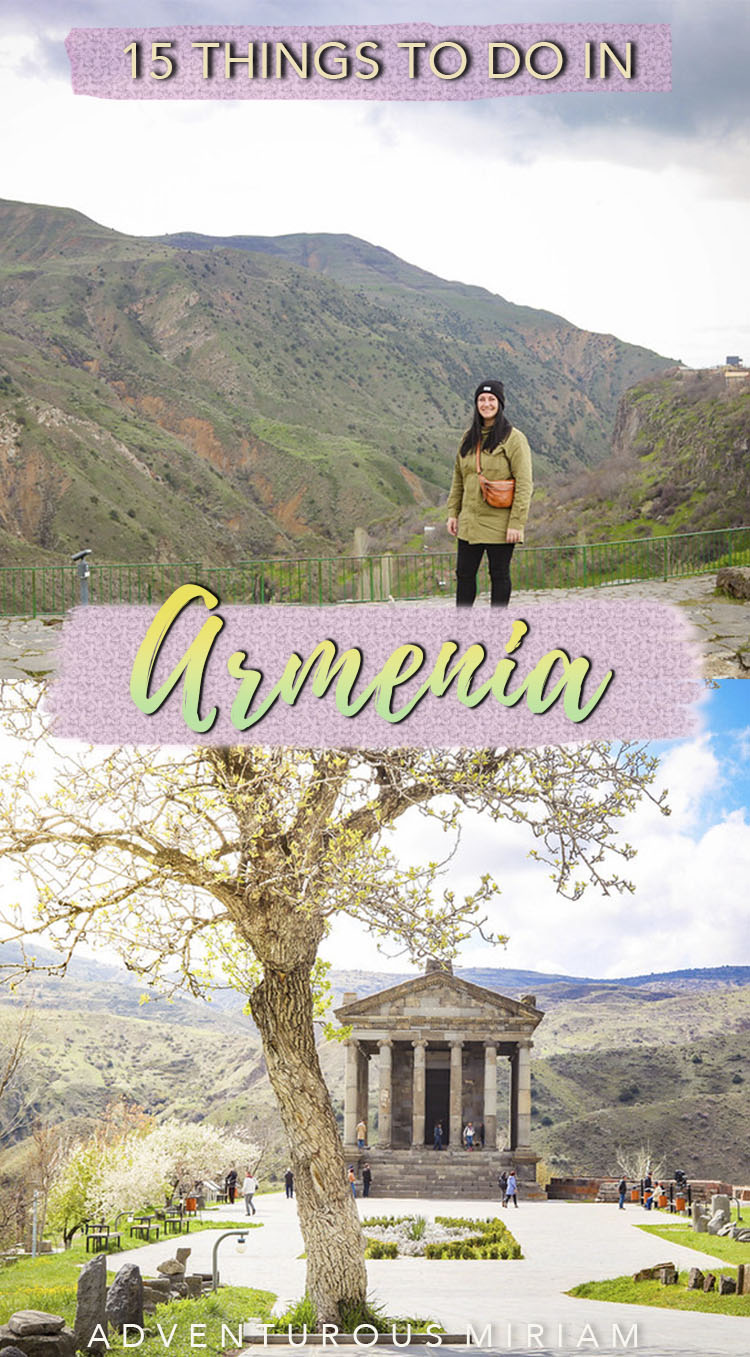 Looking for the best things to do in Armenia? From miles of snow-capped mountains to valley and the beautiful Lake Sevan, there's no end to the natural beauty of Armenia. Get the 15 most amazing and unique things to do in Armenia (incl. Yerevan, Geghard and the Khor Virap monastery) for solo travelers, families, couples and first-time visitors. #armenia #caucasus #travel