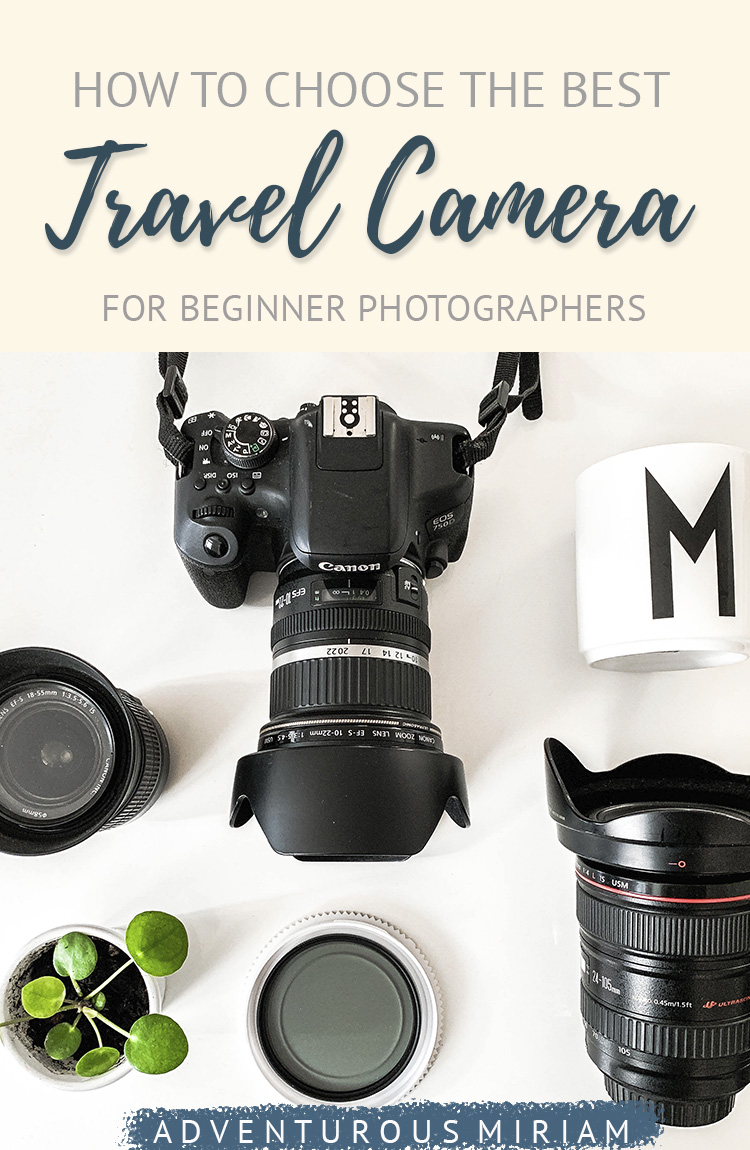 Looking for the the best camera for travel photography? I've compiled a list of the best mirrorless, point & shoot, and DSLR travel cameras, including lenses and other camera accessories. #travelcamera #camera #travelphotography
